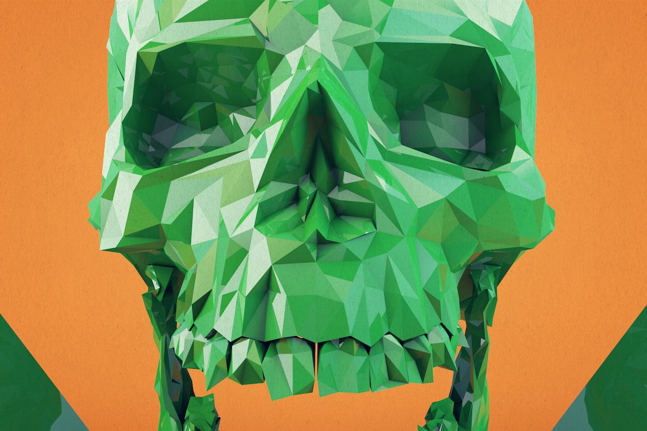 Skull_lowpoly